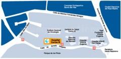 Mapa de acceso - Hospital Carlos III