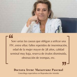 Doctora Irene Matarranz Pascual