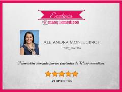 Alejandra Montecinos - Psiquiatra online