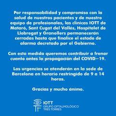 Instituto Oftalmológico Tres Torres