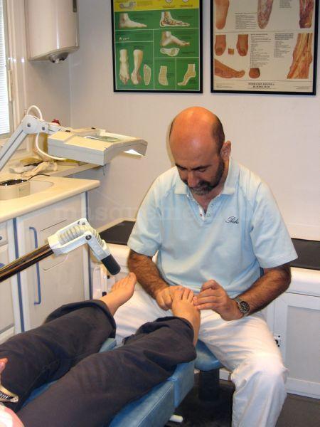 Tratamiento - Clínica de Podología y Fisioterapia Pedro G. Caballero