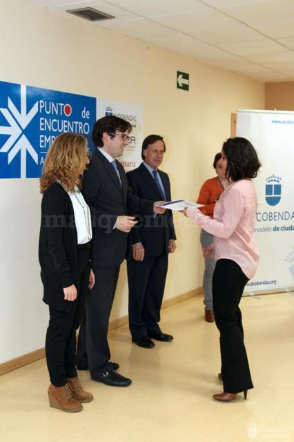 Recepción de diplomas Pymes Alcobendas_ - Rosalía Menéndez