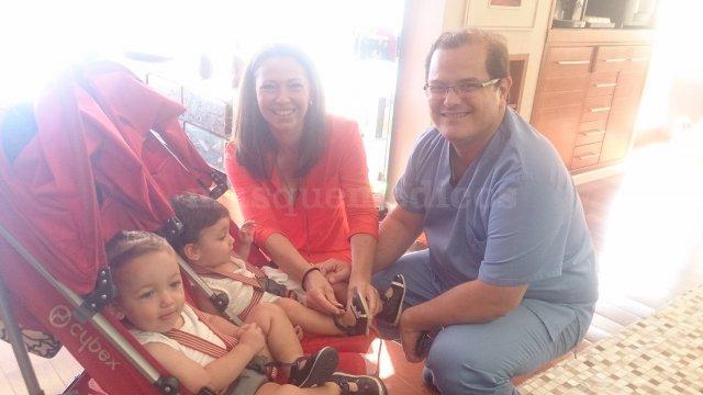 Vanesa viene a presentarnos a sus mellizos - IVF Spain