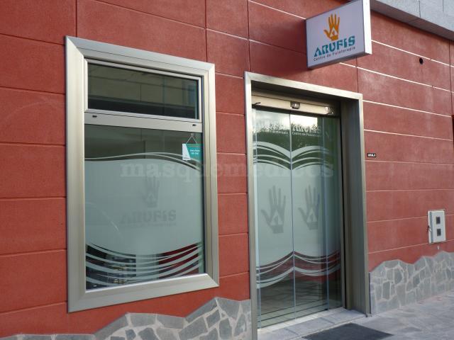 Entrada - Centro de Fisoterapia Arufis