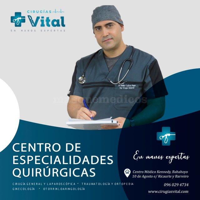 Les esperamos - Dr. Amilkar Suárez Pupo
