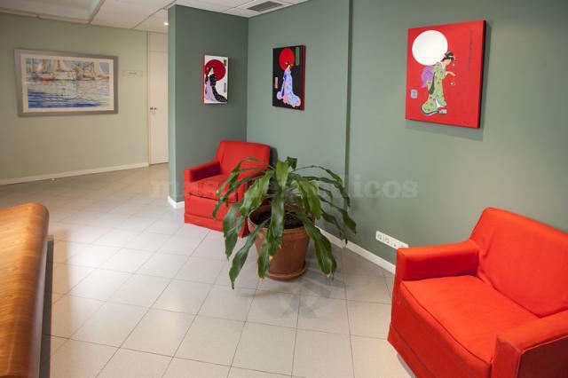 Sala de espera - Instituto Dr. Sesma