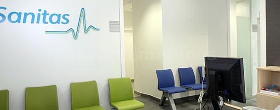 Sala de espera - Clínica Dental Milenium Escorial