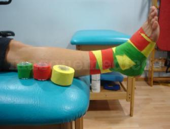 Vendaje Funcional Tape  - Centre de Fisioterapia Toni Bové