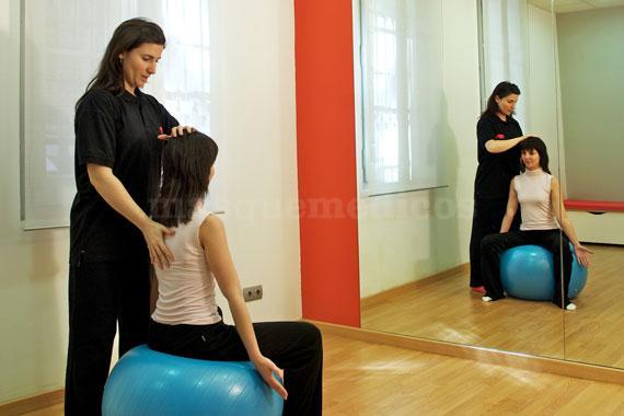 Ejercicios en el gimnasio - Fisiogim