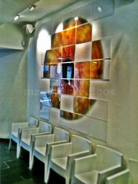 Sala de espera - Institut Comtal d' Oftalmologia