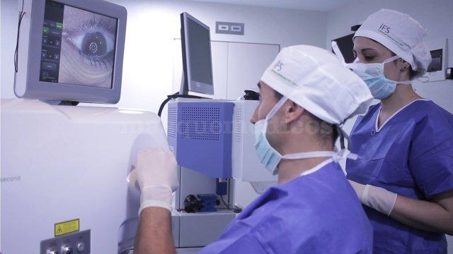 Cirugía refractiva con Láser Amaris e Intralase - Instituto Oftalmológico Clinsafa