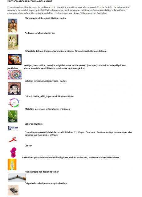 Psiquiatría, psicosomática y psicología de la salud - Dra. Conxita Vidal-Coll