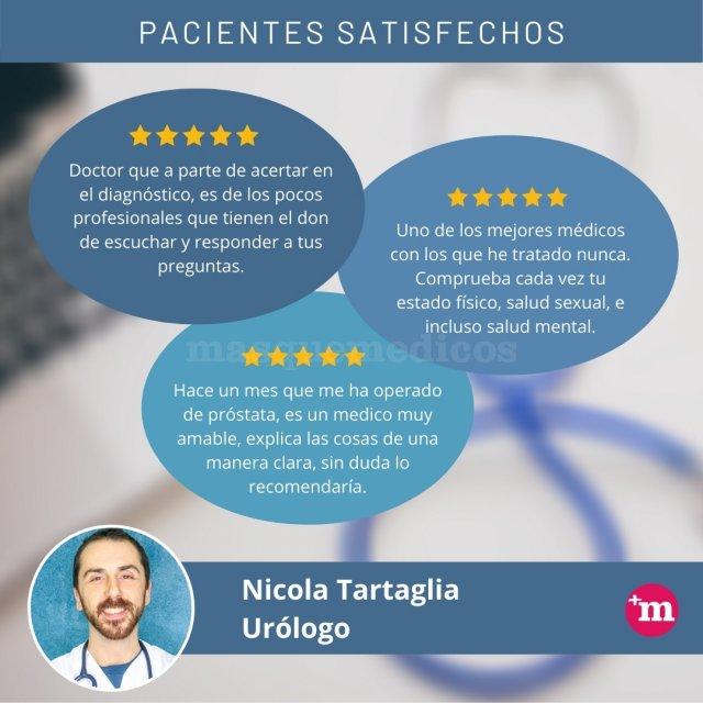 Opiniones sobre Nicola Tartaglia - Nicola Tartaglia