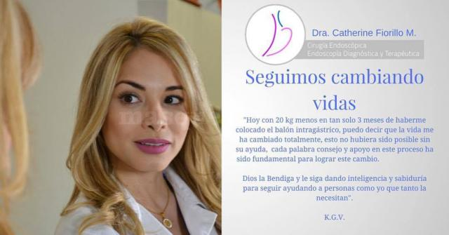 - Dra. Catherine Fiorillo Moreno