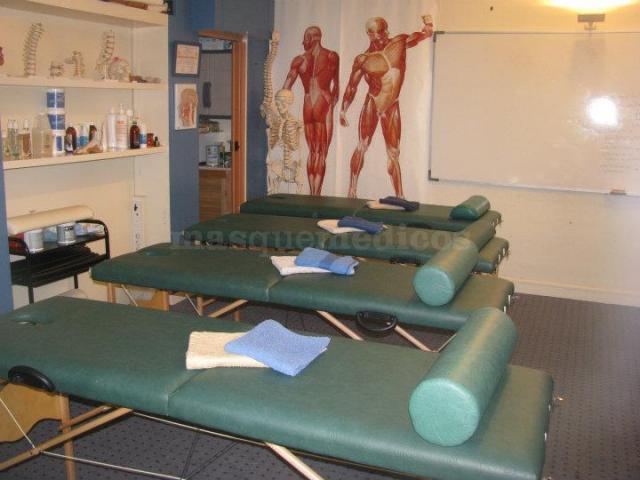 Sala de prácticas - Instituto de Terapias Manuales