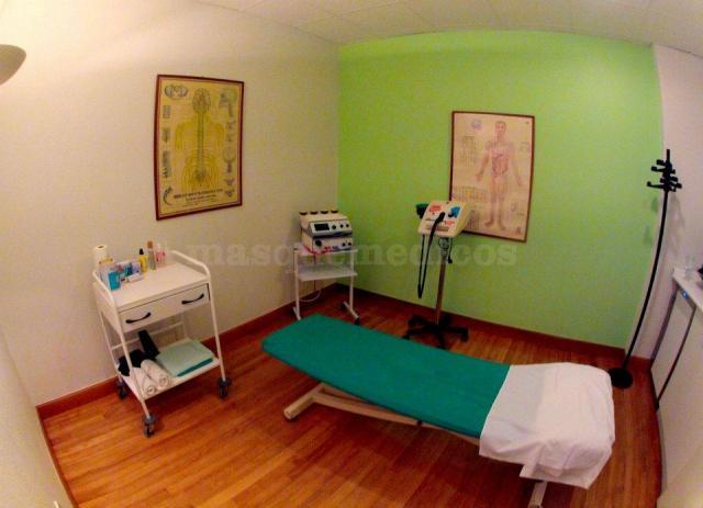 Gabinete - Maza Fisioterapia Osteopatía