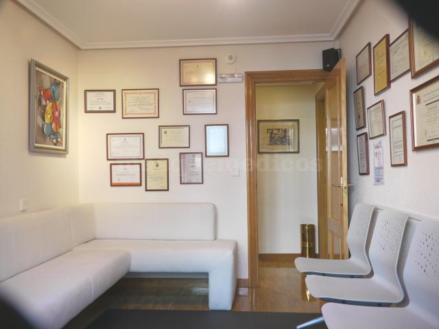 Sala de espera. - Clínica Podológica Serna