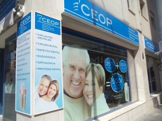 La clínica - Clínica Dental CEOP