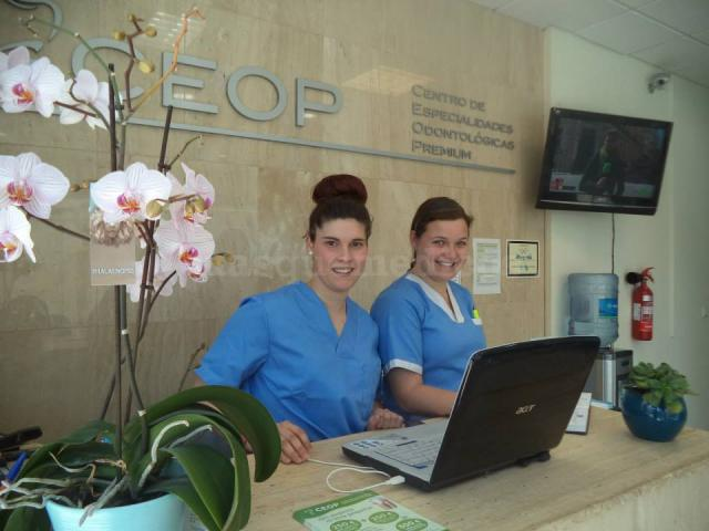 Recepción - Clínica Dental CEOP