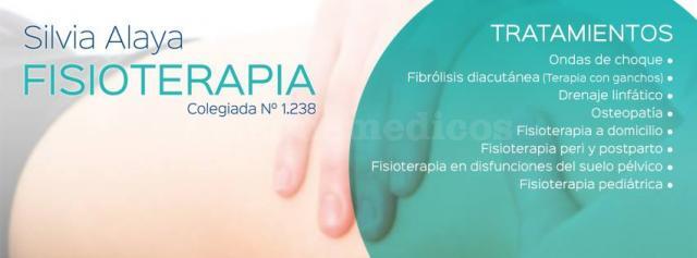 Tratamientos de Silvia Alaya, fisioterapeuta - Silvia Alaya