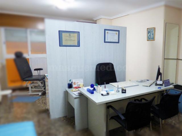 Sala de quiropodología - Consulta de Podología Llorens