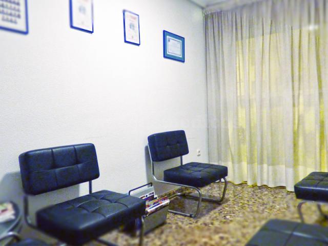 Sala de espera - Consulta de Podología Llorens