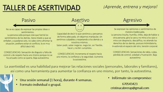 Taller de asertividad - Cristina Cabrera