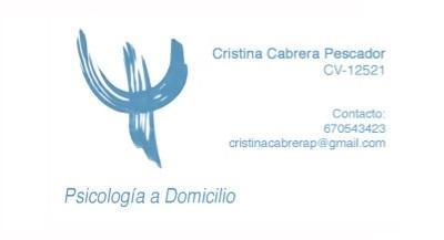 - Cristina Cabrera