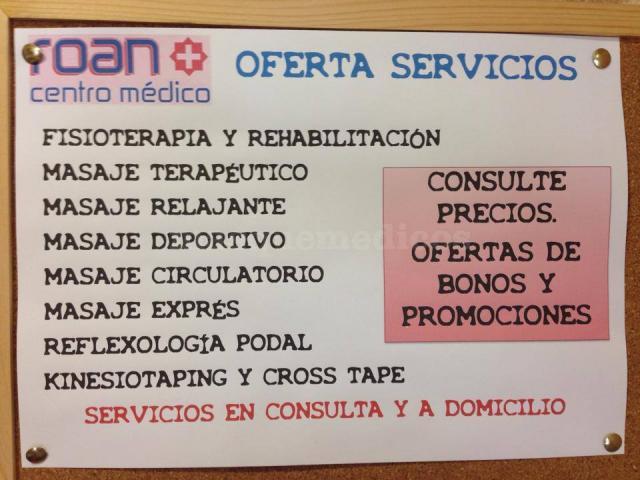 Servicios - Centro Médico Roan