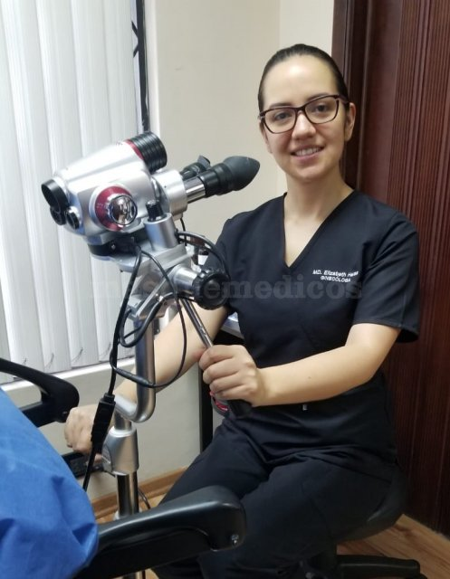 Certificación por la Sociedad Argentina de Patología del Tracto Genital Inferior y Colposcopía - Elizabeth Heras Crespo