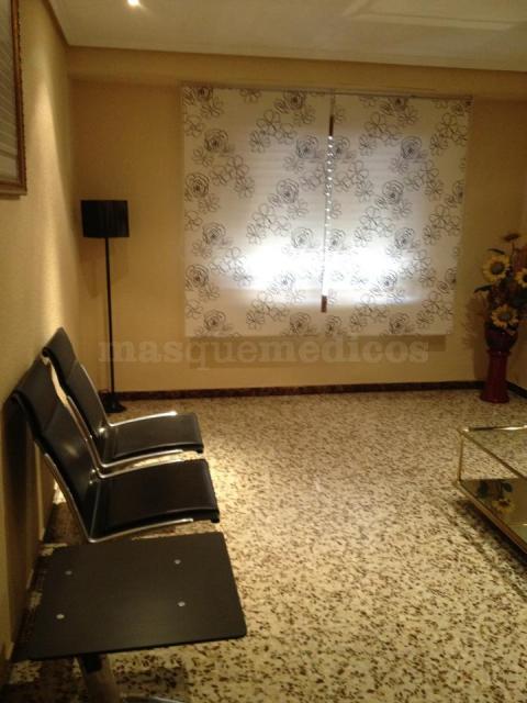 Sala de espera - Centro de Psicología Elia Bernabeu