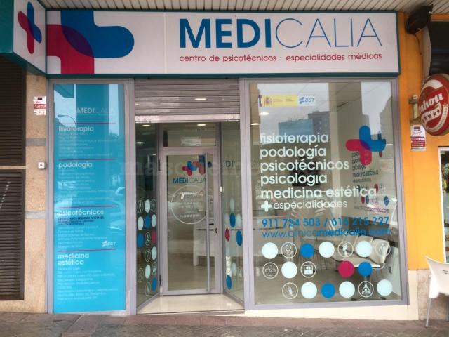 Entrada Clínica Medicalia - Clínica Medicalia