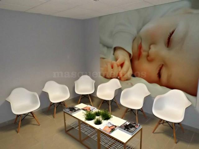 Sala de espera - Clínica Dorsia Gandía