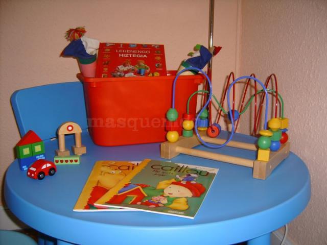 Espacio infantil - Amaia Juárez Bengoetxea
