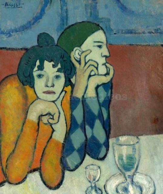 Picasso en L'Hemitage. - Bufetmedic
