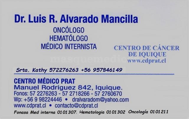 Consulta médica  - Luis Roberto Alvarado Mancilla