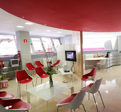 Sala de espera - Clínica Ivalia Dermis