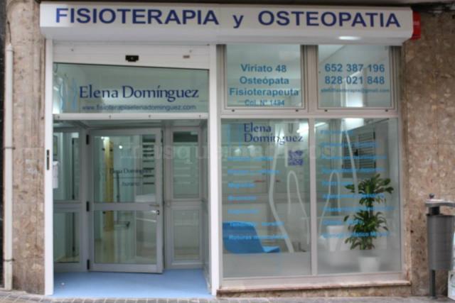 Entrada a Centro de Fisioterapia Elena Domínguez - Elena Domínguez Domínguez