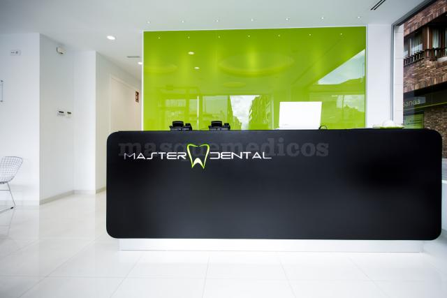 Recepción Clínica Master Dental Leganés - Clínica Master Dental