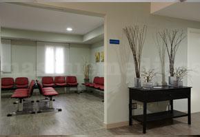 Sala de espera - Centro Médico-Quirúrgico de Enfermedades Digestivas