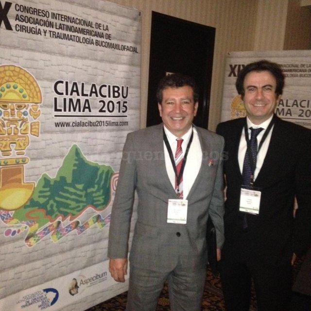 Conferencia en el IX Congreso Internacional de la Asociación Latinoamericana de Cirugía y Traumatolo - José Ignacio Salmerón Escobar