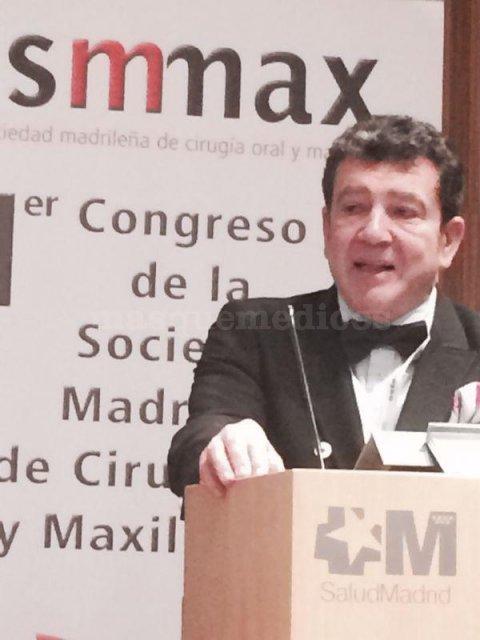 Conferencia en el 1er Congreso de Sociedad Madrileña de Cirugía Oral y Maxilofacial - José Ignacio Salmerón Escobar