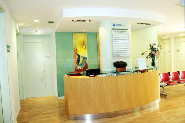 Recepción - Clínica Dental Habana