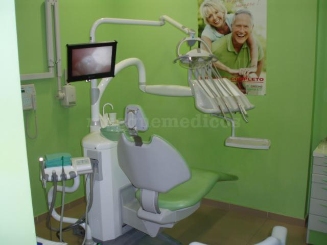 Gabinete verde - Clínica Dental Villaverde Alto