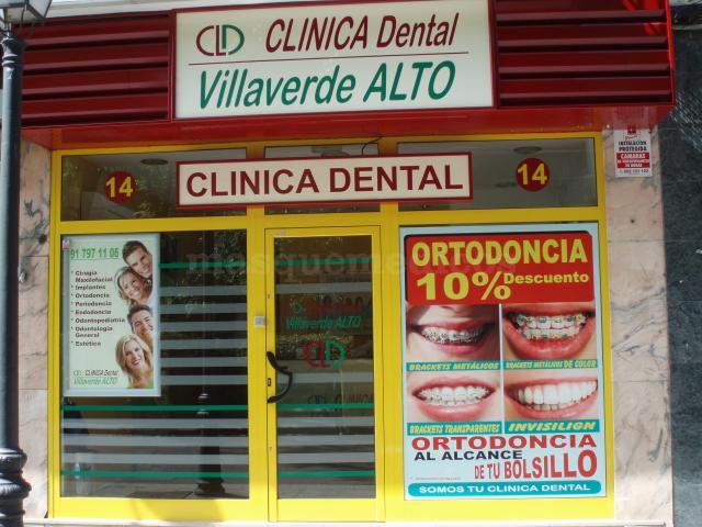 Entrada - Clínica Dental Villaverde Alto