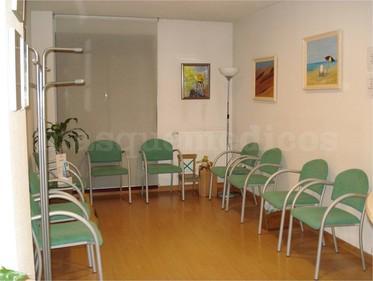 Sala de espera - Clínica Dermatológica Dra Elena de las Heras