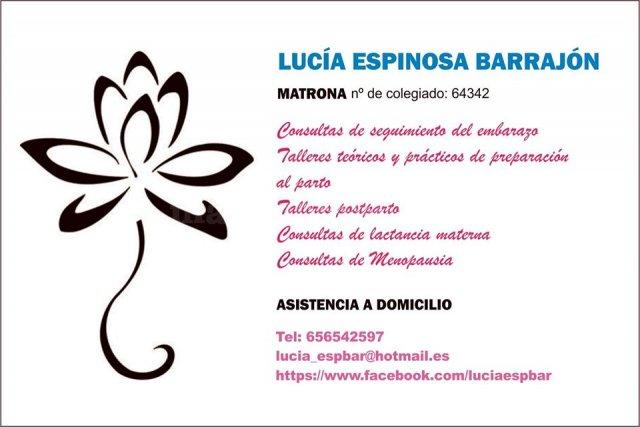 - Lucía Espinosa Barrajón