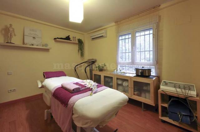 Cabina rosa - Centro de Terapias Alternativas Guiomar