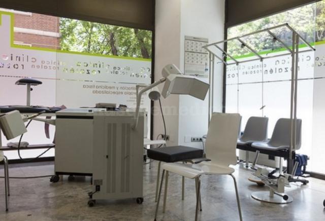 Zona de Rehabilitación - Centro Médico Dr. Rozalén