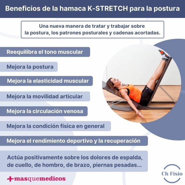 Beneficios de la hamaca K-STRETCH para la postura - Charo Díaz